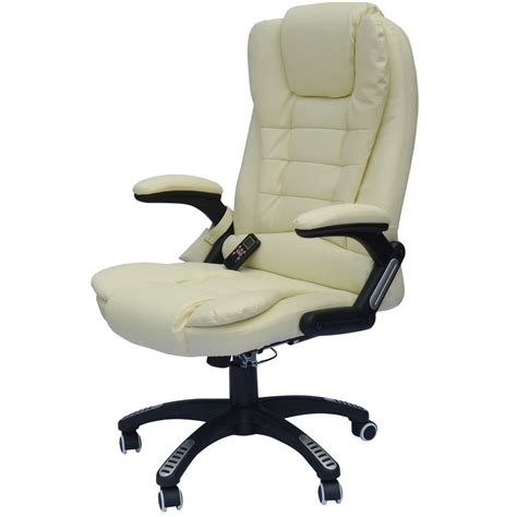 Office Chair Heater by New Comfort Executive Ergonomic Pu Leather Heated