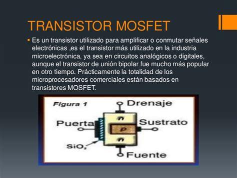 transistor mosfet o que é transistores