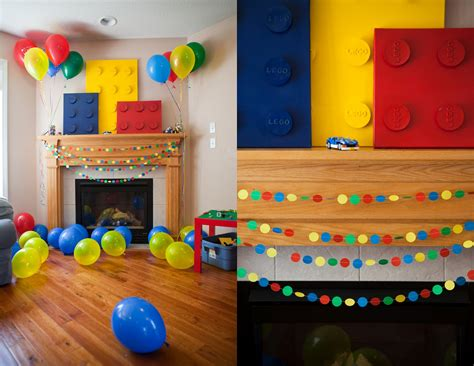 Handmade Birthday Decorations Ideas - serenity the lego part one