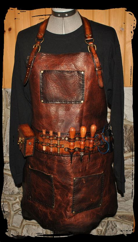 pattern for leather apron steunk leather apron by lagueuse on deviantart