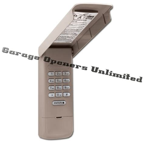 Garage Door Opener Keypad Liftmaster Liftmaster 877max Wireless Keypad