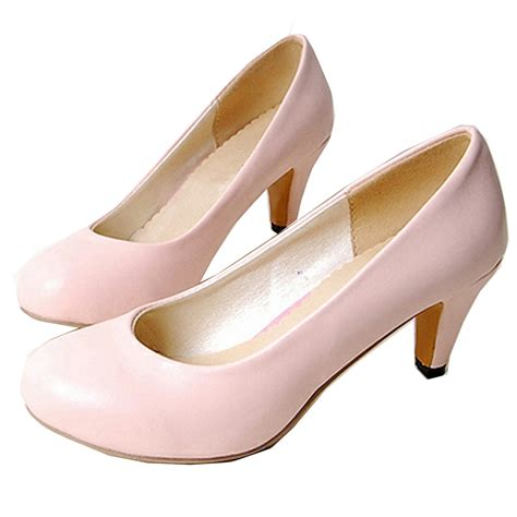kitten pumps court pink womens high heels shoes