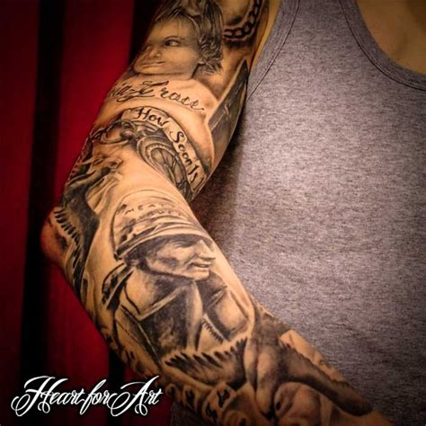 family sleeve tattoo family themed sleeve tattoos cas