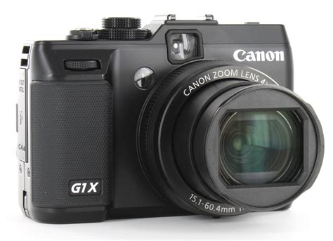 canon g1x canon powershot g1 x review