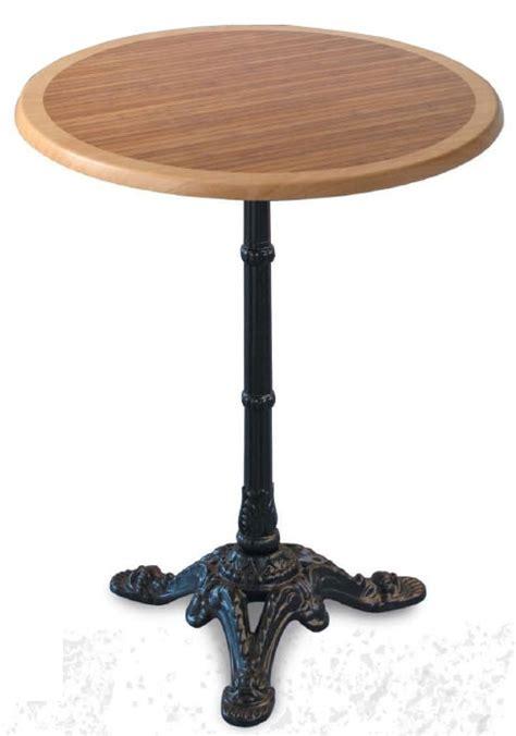 bistrot 4100 pi 233 tement de table classique en metal pour