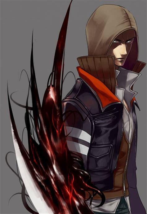Id 0226 Anime Gray Cardigan Sweater alex mercer 1626226 zerochan