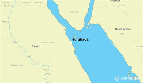 Smallest by Where Is Hurghada Egypt Hurghada Red Sea Map