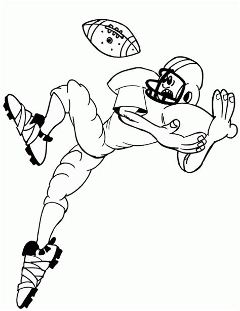 coloring page football free printable football coloring pages for kids best