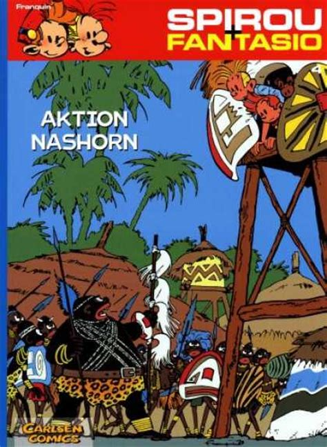 Komik 4 Petualangan Spirou Fantasio spirou fantasio cover