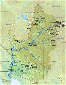where does the colorado river start and end colorado river