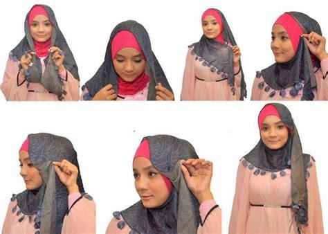 tutorial hijab segitiga 2015 cara memakai jilbab segitiga simpel tapi elegan 2017