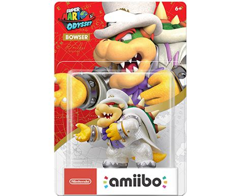 Amiibo Bowser Mario Odyssey Series amiibo mario odyssey bowser hadriatica