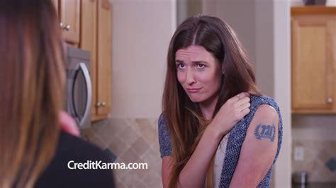 credit karma commercial actress tattoo credit karma tv commercial credit score tattoo youtube