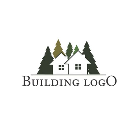 house logo design vector green house logo design download building logos vector