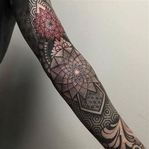 how to design a tattoo sleeve best 25 geometric sleeve ideas on