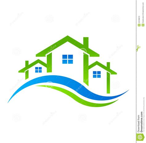 houses real estate real estate houses logo stock photo image 33199870