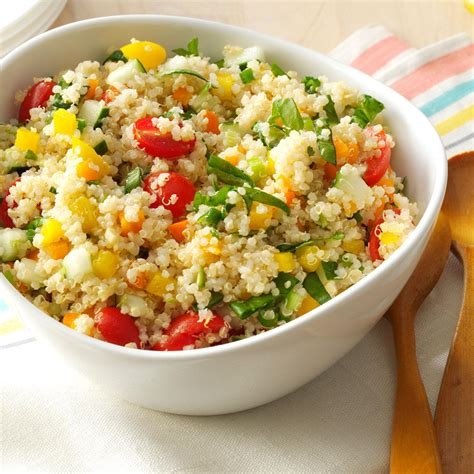 quinoa salad recipes colorful quinoa salad recipe taste of home