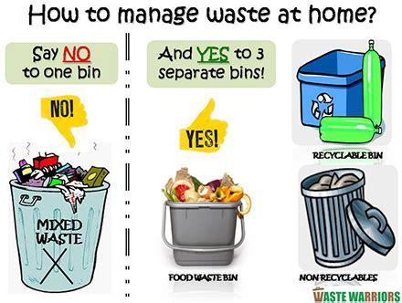 segregate your waste waste warriors