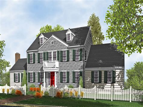 colonial style home plans colonial style homes colonial two home plans for