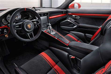 porsche 911 interior the 2018 porsche 911 gt3 launched in india autobics