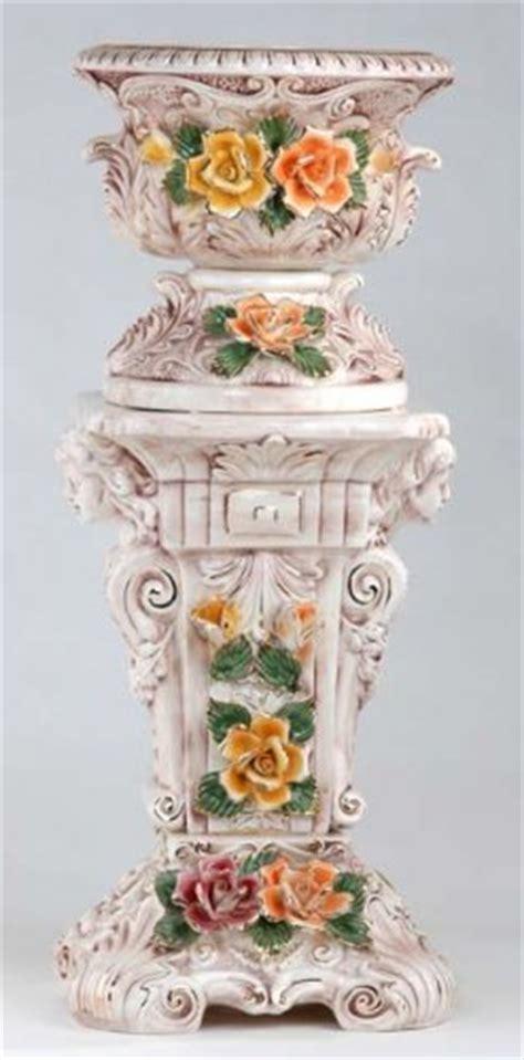 Capodimonte Planter capodimonte reproduction pedestal planter