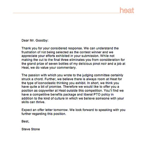 want to work for heat try an ad for the creative