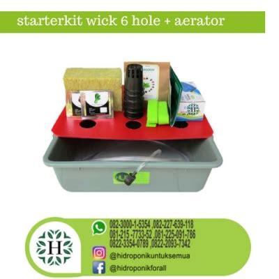 starterkit hidroponik murah aerator jual alat bahan