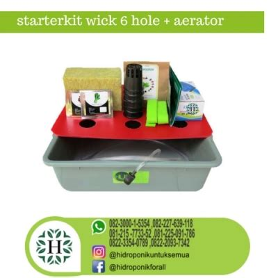 Starter Kit Hidroponik Murah Jakarta starterkit hidroponik murah aerator jual alat bahan