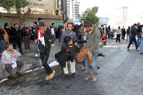 Rockets fired after deadly Baghdad protests, officials say ... Iraq 2017