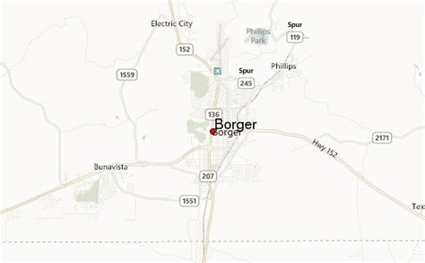 map of borger texas borger texas location guide