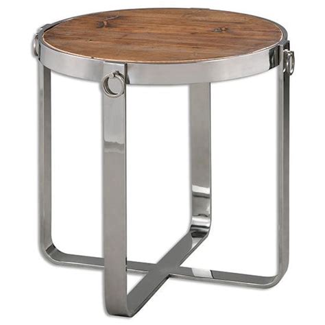 silver end table abelena silver end table