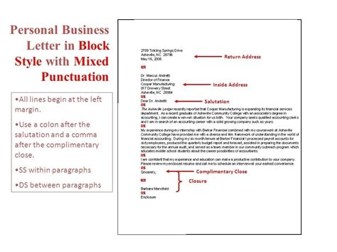 business letter inside address inside address in a business letter letters free
