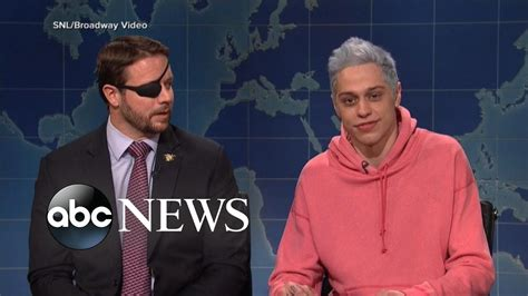 pete davidson youtube dan crenshaw rep dan crenshaw reaches out to snl star pete davidson