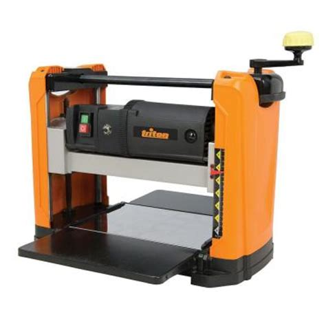 triton 120 volt 12 5 in corded planer tpt125 the home depot