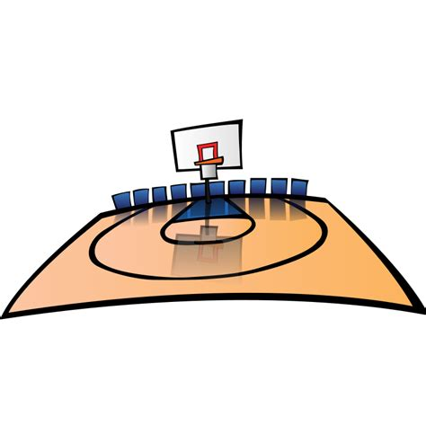 basketball court clipart free basketball court clip