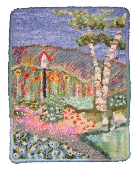 rug plan kits pictorial rug hooking kit available in limited quantities cindi rug hooking