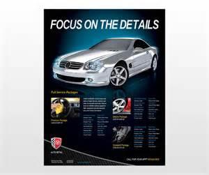 auto detailing flyer template car auto detailing services business flyer templates