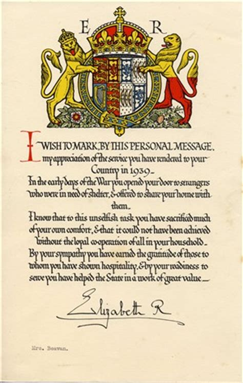 appreciation letter to a king royal letters of appreciation kettering in world war ii