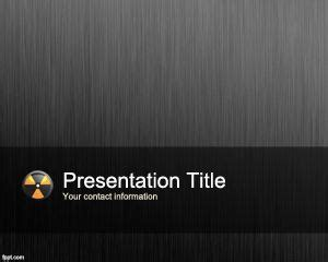nuclear powerpoint template 158 free powerpoint templates medicine