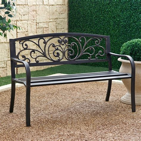 fascinating cheap outdoor benches comes with iron wrought