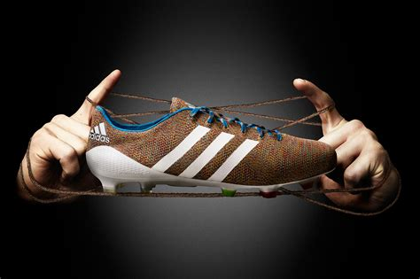 Knitted Football Boots By Adidas Cover Magazine Carpets