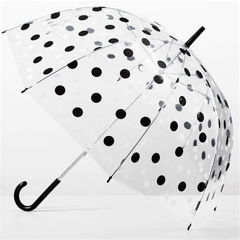 ombrello trasparente a cupola ombrello a cupola a pois cliccandoshop it