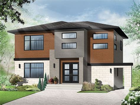 modern 3 bedroom house contemporary home plans 2 story contemporary house plan