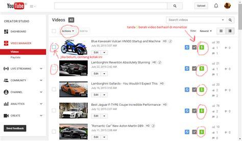 adsense youtube ditolak gurih cara mendapatkan uang dari youtube dengan sangat mudah