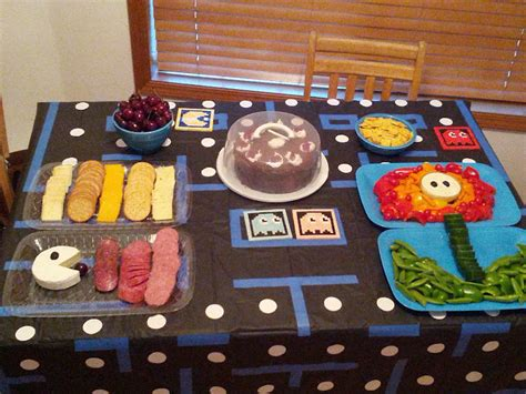 video game themed birthday party nerdy birthday treats no lie portal cake turtles rhinos