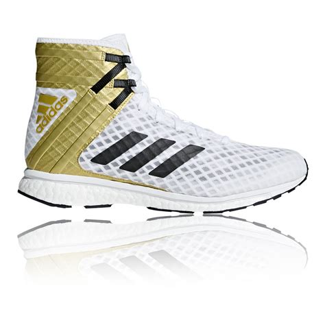 gold boxing shoes adidas mens speedex 16 1 boost boxing shoes gold white