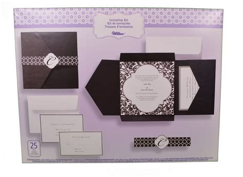 Wedding Invite Kits Paper modern wedding invitations wedding invitation kits