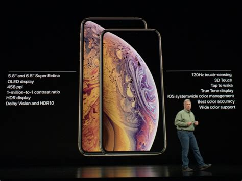 apple just revealed a new iphone that has the largest screen yet meet the iphone xs max