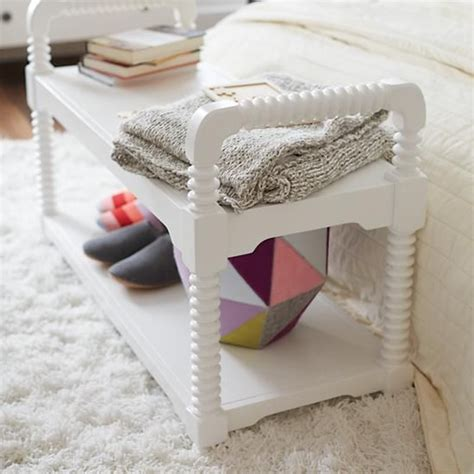 land of nod bench jenny lind bench storage bins storage benches and cube
