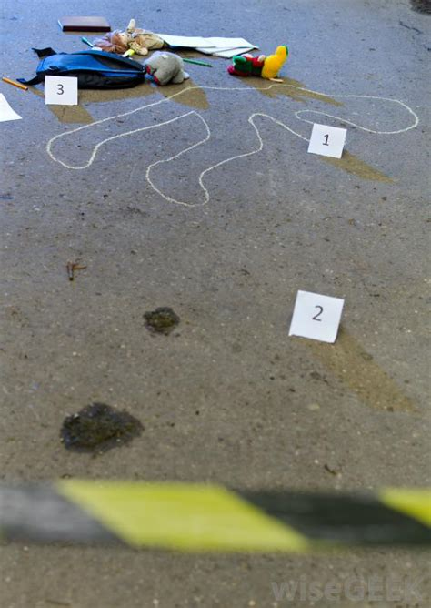 What Is Crime Scene Evidence With Pictures